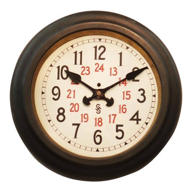 Bauhaus Workshop Wall Clock by Siemens Halske, 1930s For Sale