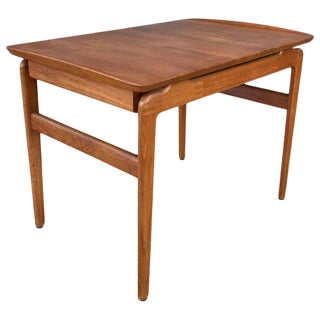 Hvidt and Mølgaard-Nelson for France & Søn Teak Side Table With Drawer For Sale
