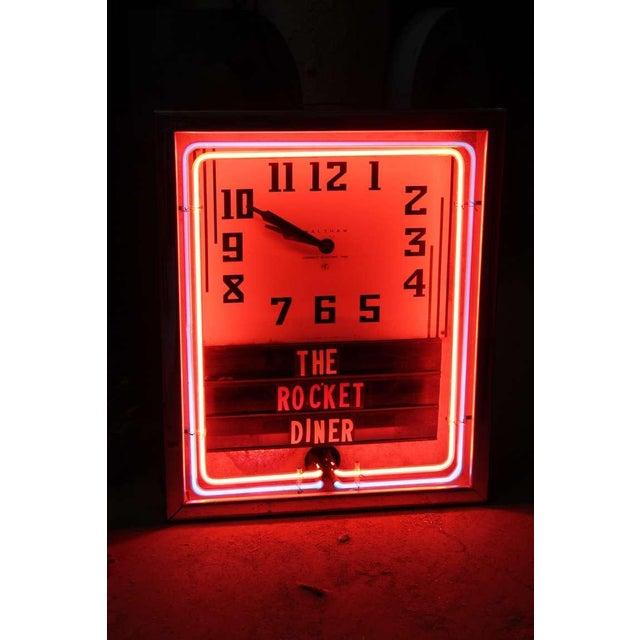 1930's Waltham Neon Diner Clock