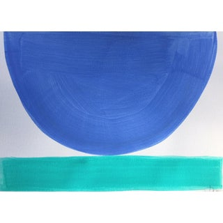 """Sky Blue and Aqua"" - Mix and Match Bowls by Jenny Andrews Anderson"