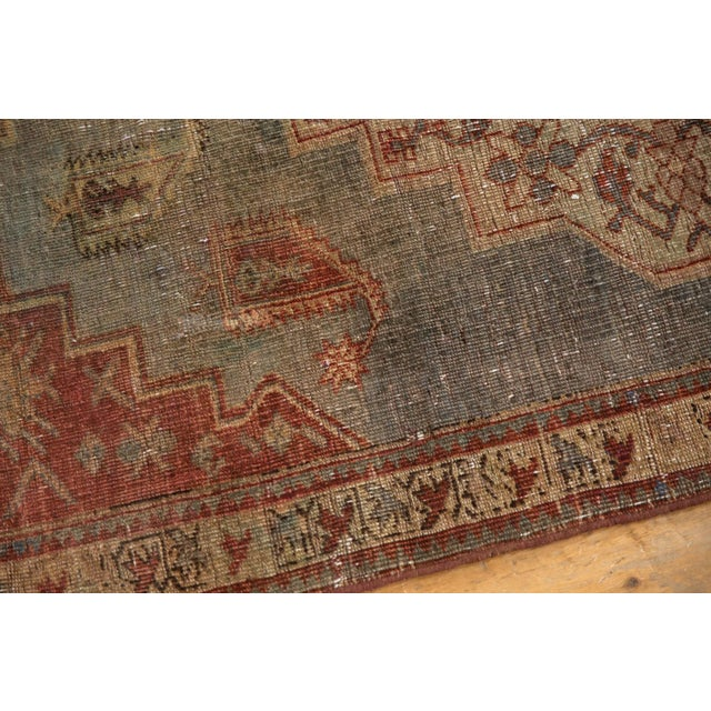 """Vintage Distressed Northwest Persian Rug - 4'3"""" X 6'3"""" For Sale - Image 11 of 13"""