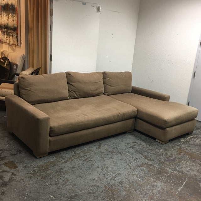 Restoration Hardware Maxwell Sectional - Image 2 of 6