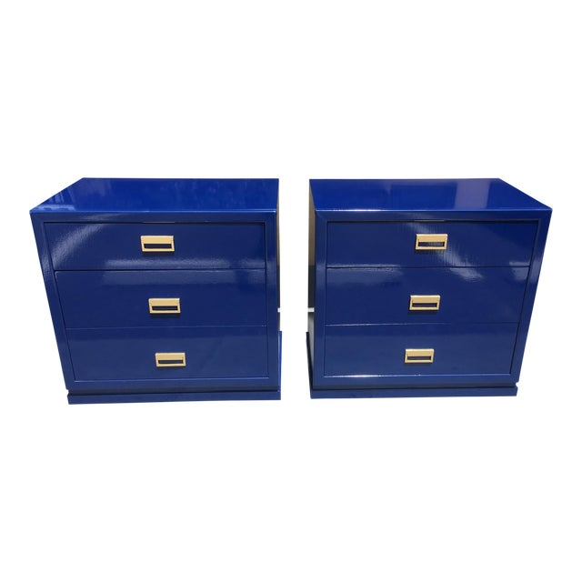 Modern Vintage Bachelor Chests - a Pair For Sale