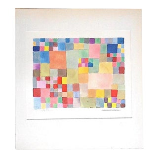 Vintage Mid 20th C. Abstract Lithograph-Paul Klee For Sale