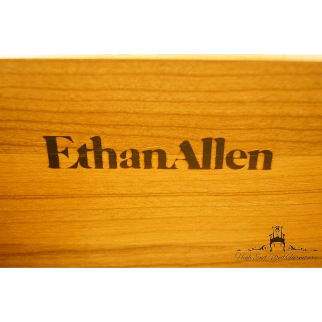 Ethan Allen Georgian Court Queen Anne Buffet For Sale - Image 12 of 13