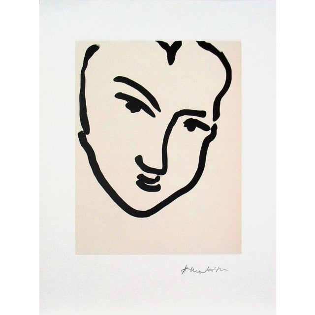 """Nadia Au Visage Penche"" by Henri Matisse - Image 1 of 2"