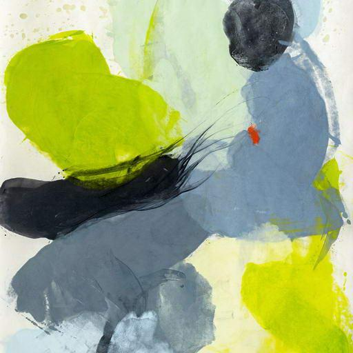 """Abstract Tracey Adams """"Guna Jj"""", Painting For Sale - Image 3 of 4"""