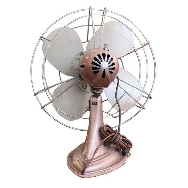 Metal Vintage Westinghouse Fan For Sale - Image 7 of 8