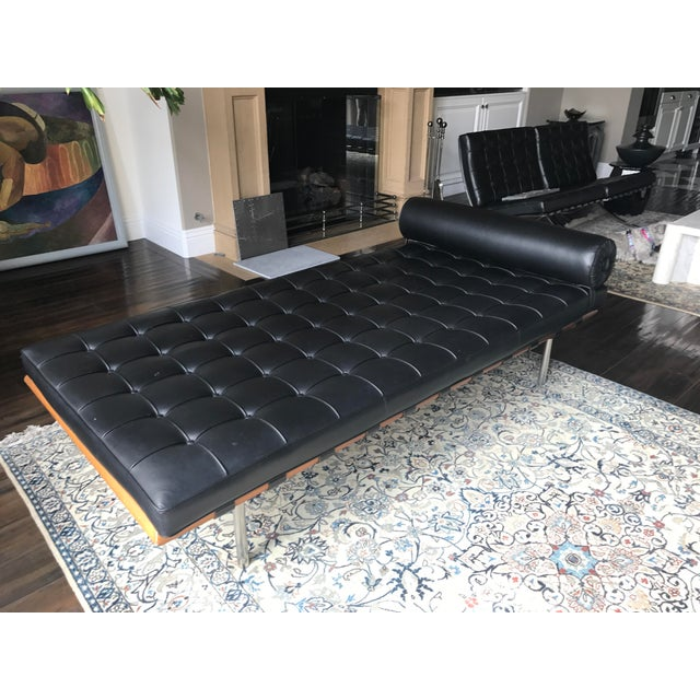 Bauhaus Mies Van Der Rohe for Knoll Barcelona Daybed For Sale - Image 3 of 6