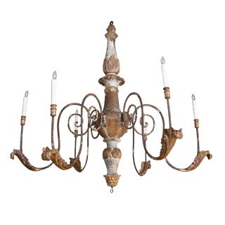 Large Scale Louis XVI Chandelier For Sale