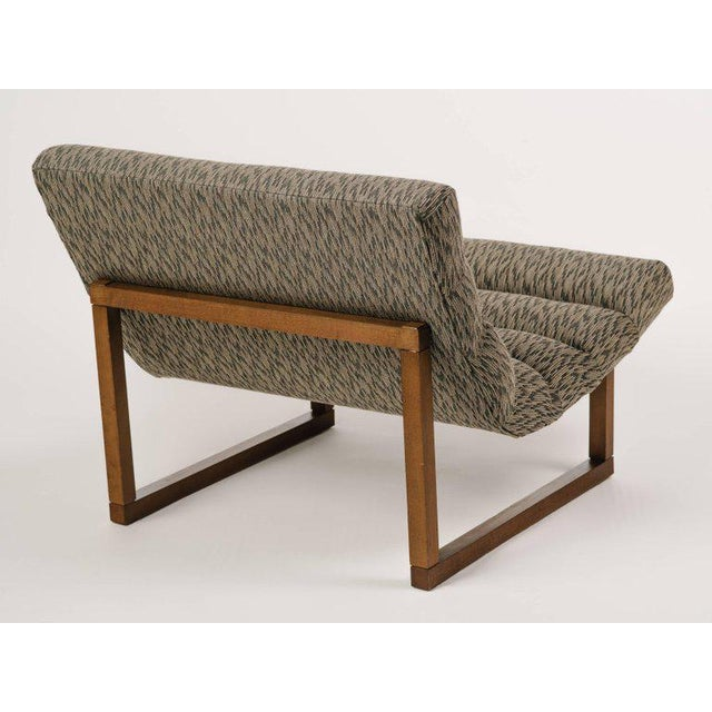 Wood Pair of Mid Century Modern Scoop Lounge Chairs by Milo Baughman For Sale - Image 7 of 12