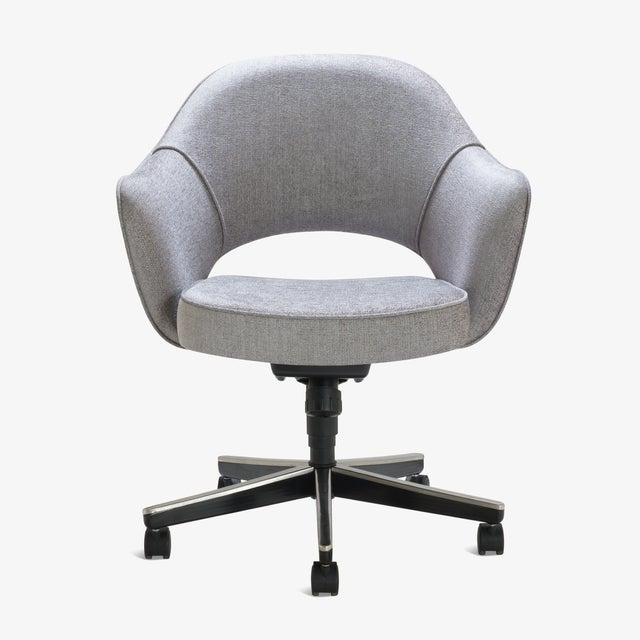 Montage has been restoring Saarinen Executive Chairs for years in every fabric one can imagine, right in our very own...