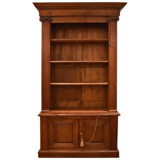 18th Century French Cherry Bibliotheque or Bookcase For Sale