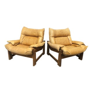 1970's Swedish Lounge Chairs For Sale
