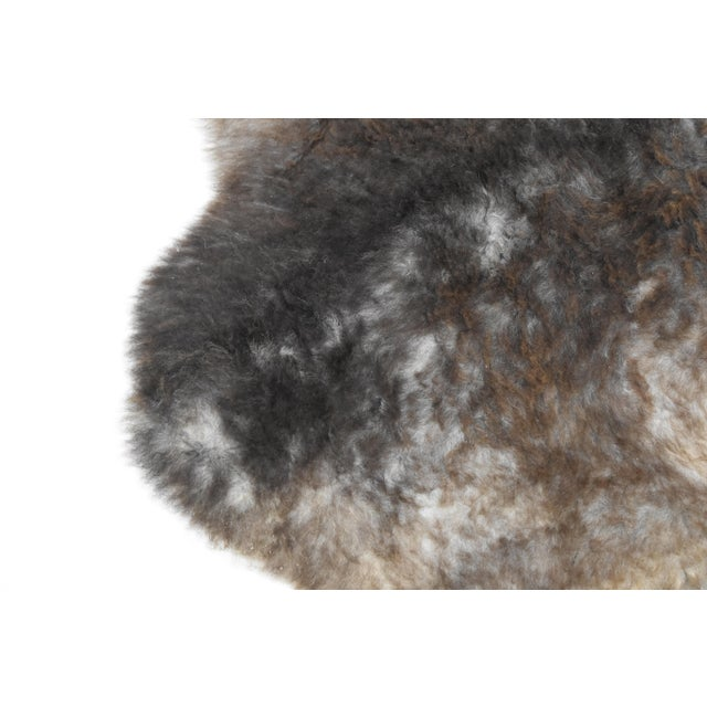 "Wool Sheepskin Pelt Handmade Rug - 2'6"" x 3'8"" - Image 7 of 8"