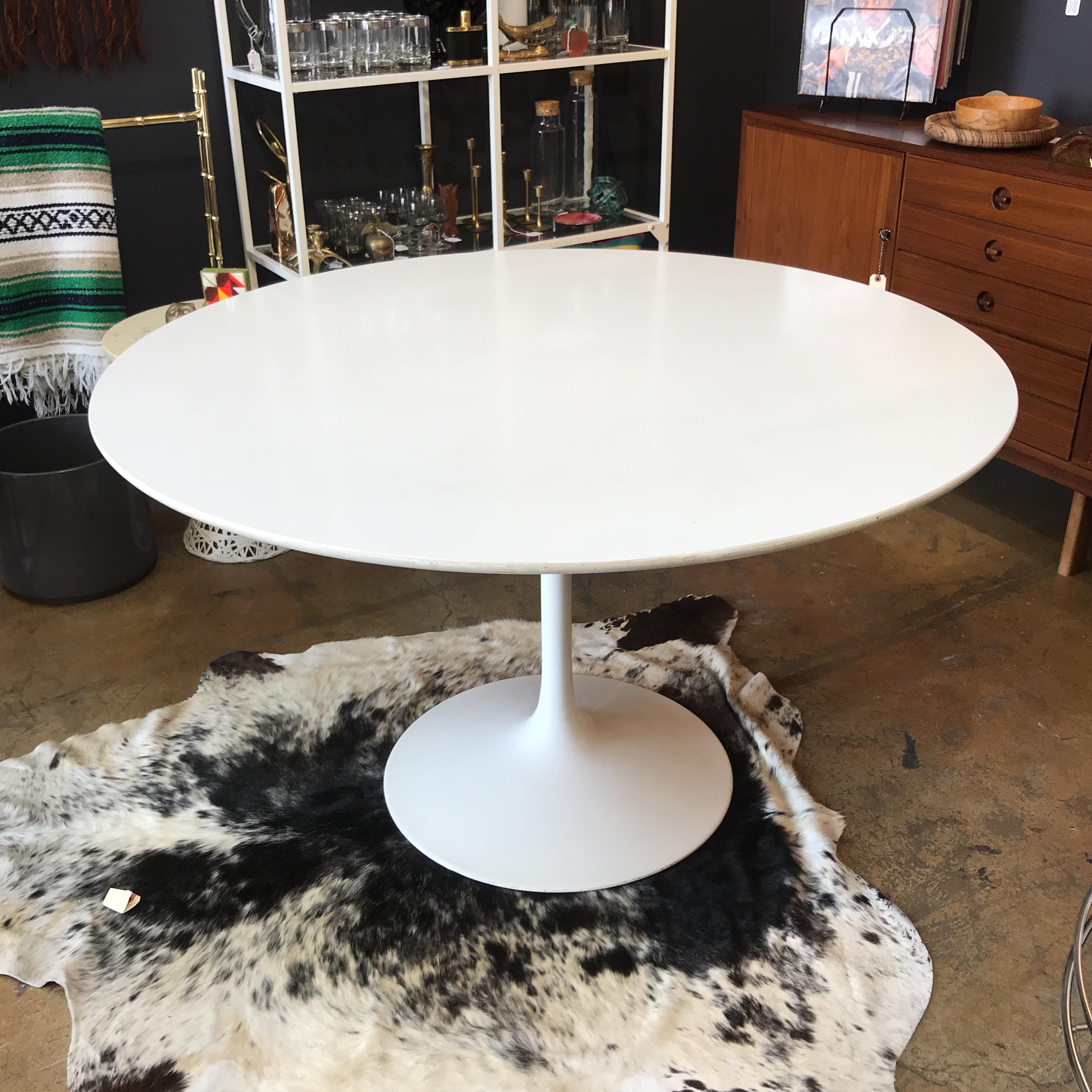 Eero Saarinen Saarinen Style Tulip Table For Sale   Image 4 Of 7
