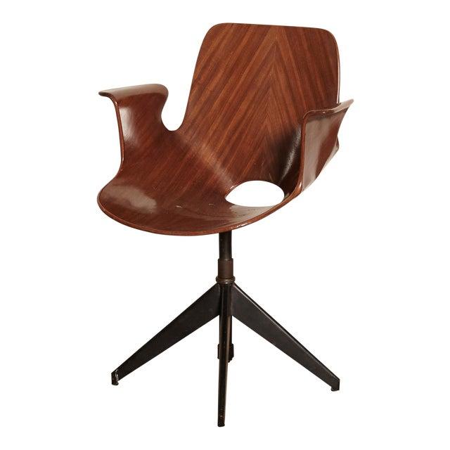 Vittorio Nobili for Fratelli Tagliabue Desk Chair, Italy, 1950s For Sale