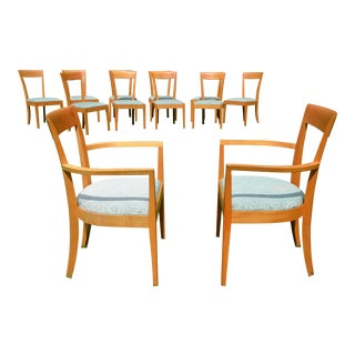 Thomas Moser Maple Harpswell Dining Chairs - A Pair For Sale
