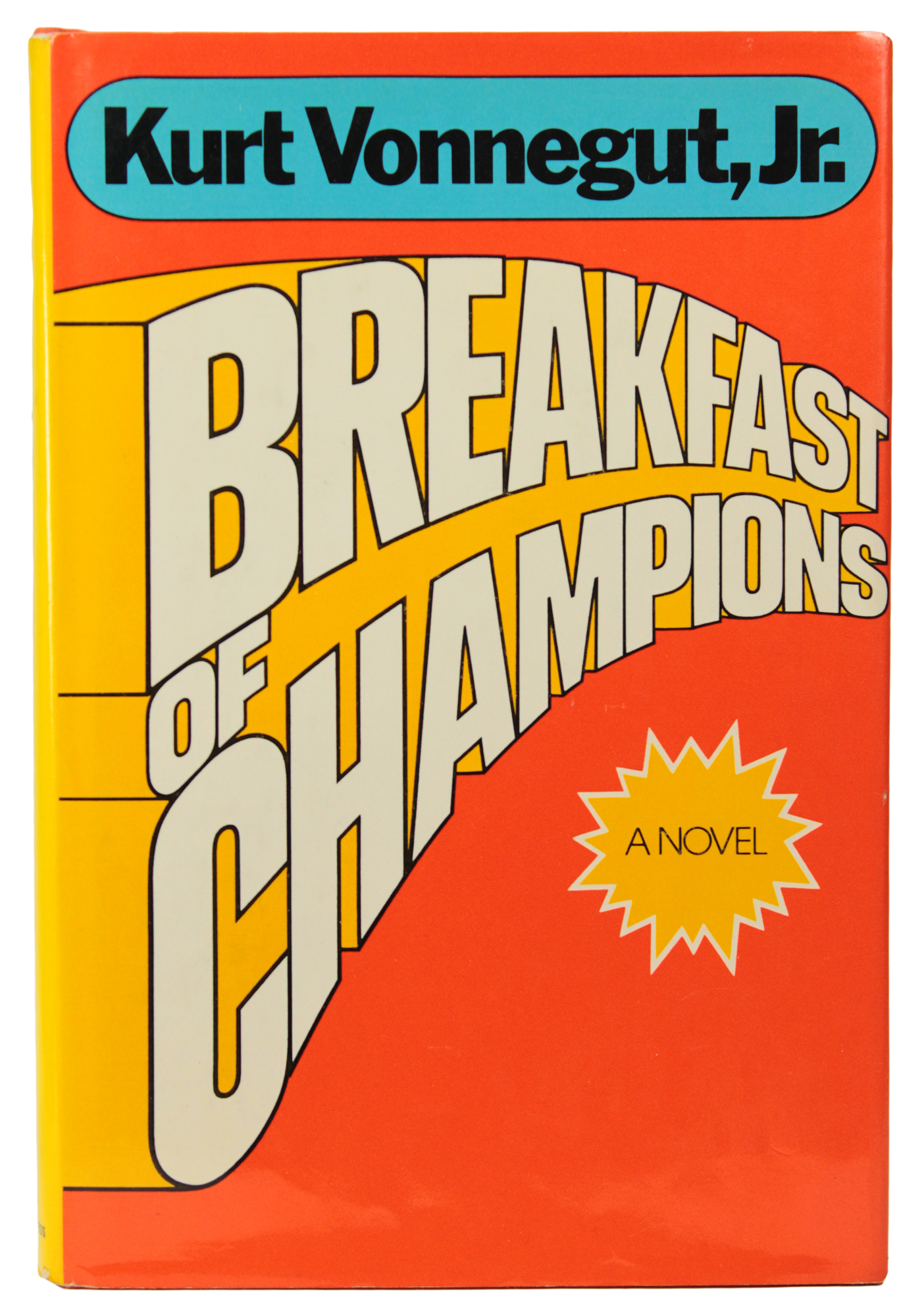 a report on breakfast of champions by kurt vonnegut Kurt vonnegut: breakfast of champions kurt vonnegut's breakfast of champions is a bleakly comic postmodern reflection on literature and language vonnegut deliberately pays little attention to the plot, which involves science fiction writer kilgore trout (a vonnegut avatar who.