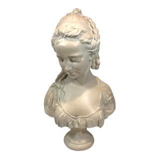 "1970s Vintage Austin Productions ""Reflecting Spirit"" Female Bust Sculpture For Sale"