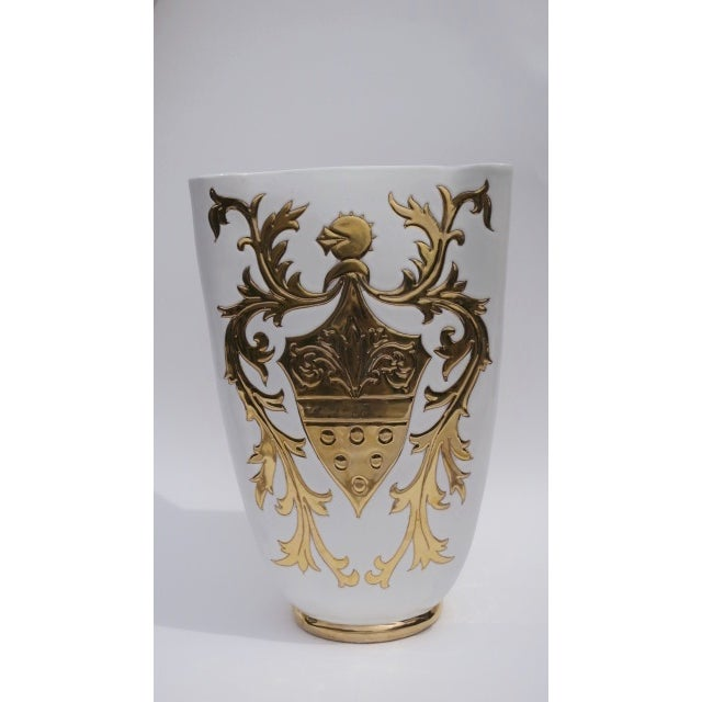 Vintage Italian Fornesetti Style Vase - Image 2 of 4