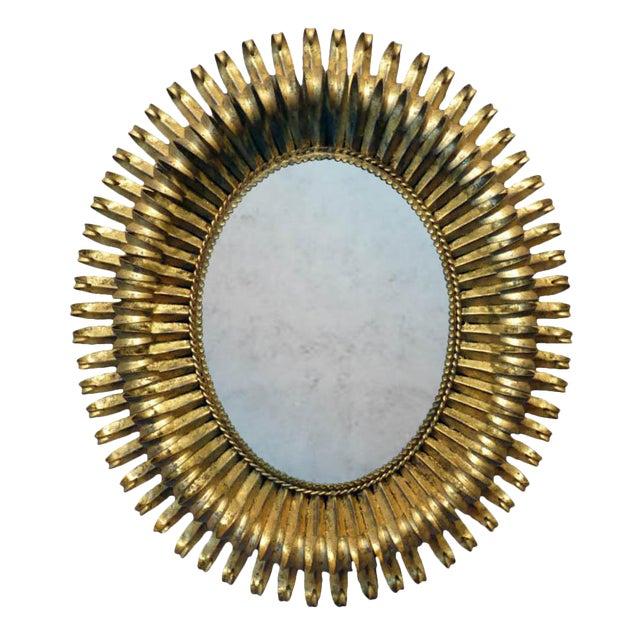 20th Century Italian Gilt Metal Mirror - Image 1 of 5