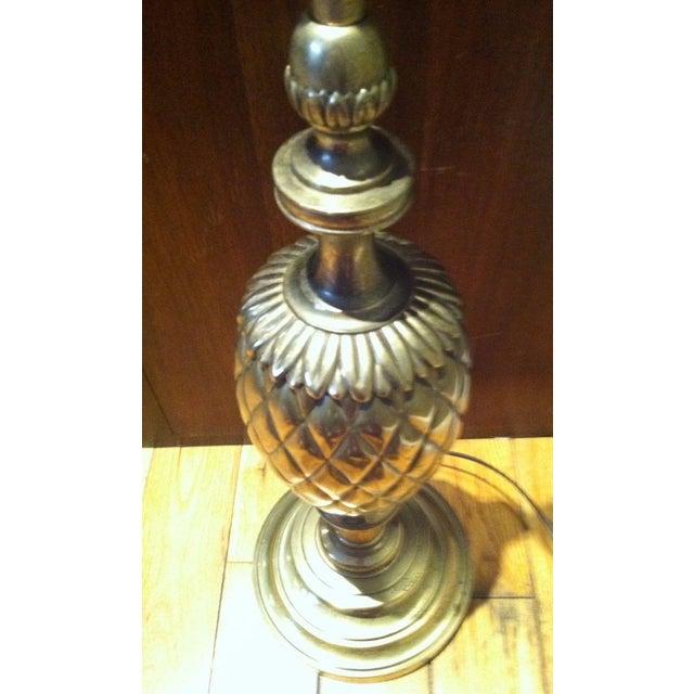 Stiffel Brass Pineapple Table Lamp - Image 4 of 9