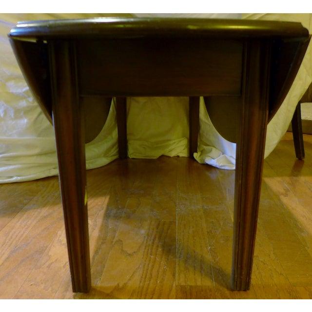 Kittinger English Oval Drop-Leaf Coffee Table - Image 5 of 8