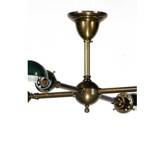 Green Metal Shade Billiard Light Preview