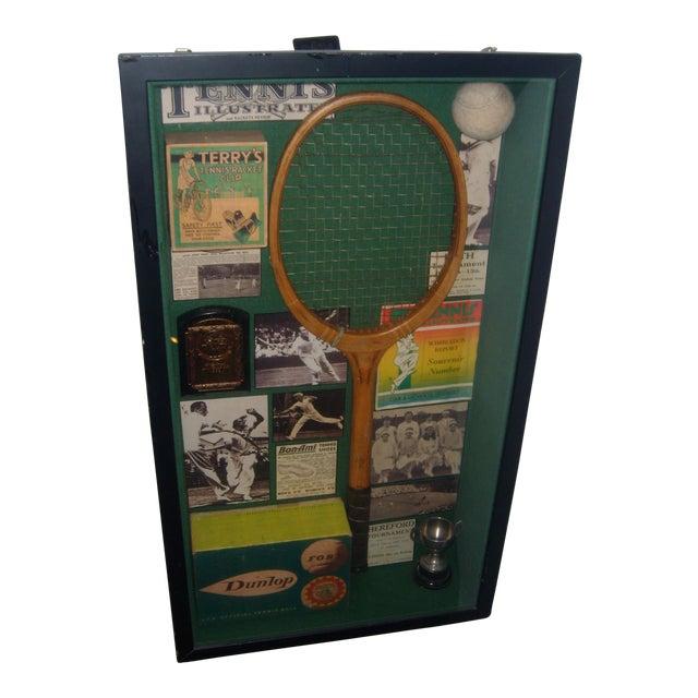 English Tennis Shadow Box - Image 1 of 7