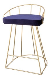 Image of Velvet Bar Stools