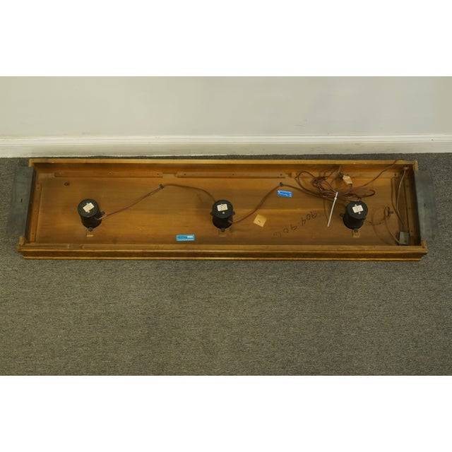 "Traditional Drexel Heritage Accolade Collection Pier Group 63"" Light Bridge For Sale In Kansas City - Image 6 of 9"