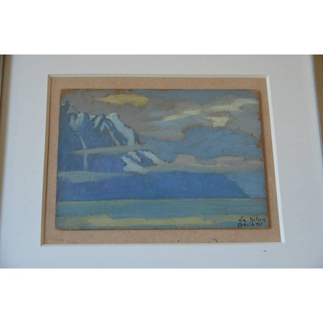 Rare Pair of Framed Oil Paintings by Ivan Da Silva Bruhns For Sale - Image 4 of 10