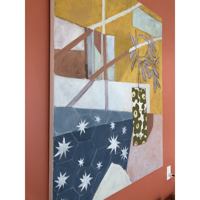 Contemporary Starry Afternoon Contemporary Painting by Taelor Fisher For Sale - Image 3 of 6