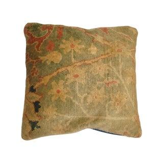 Leon Banilivi Oushak Rug Fragment Pillow