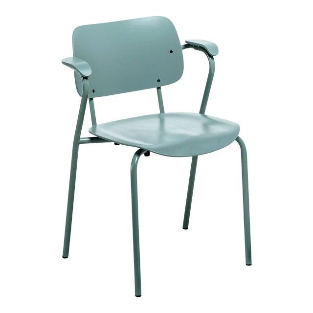Lukki Chair in Sage Green by Ilmari Tapiovaara & Artek For Sale