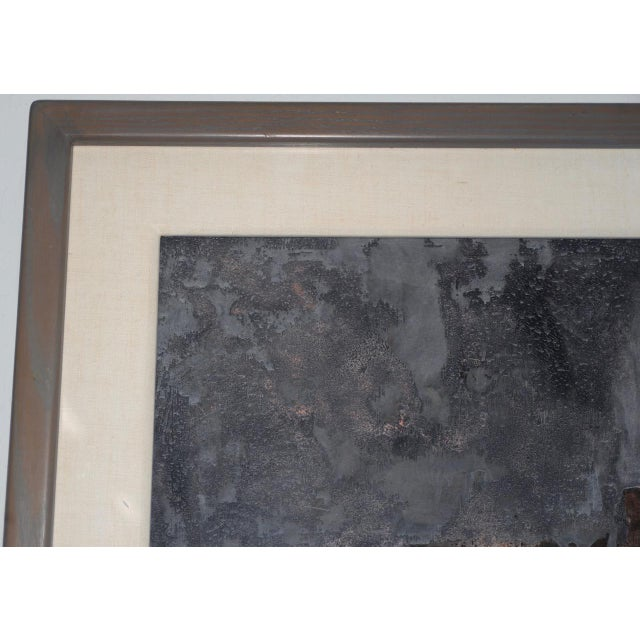 1980s Aaron Fink (American, B.1955) Vintage Abstract Original Painting C.1986 For Sale - Image 5 of 13