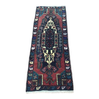 1980s Anatolian Rug Runner - 1′7″ × 4′ For Sale