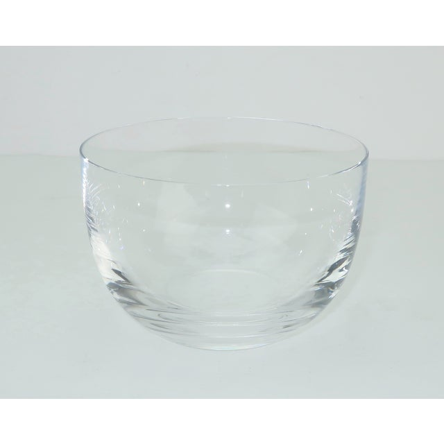 Baccarat Crystal Caviar Serving Bowls Set With Box For Sale - Image 11 of 13
