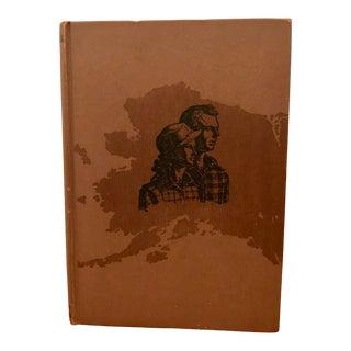 1945 Vintage We Live in Alaska Decorative Book For Sale