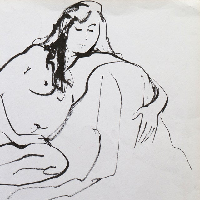 Reclining Nude by Michael Decker - Image 2 of 4