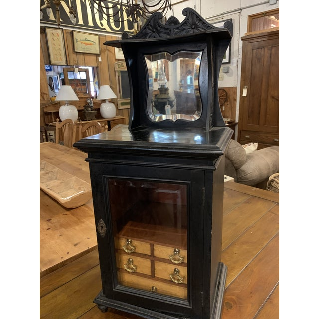 Late 19th Century Smoker's Cabinet For Sale In Boston - Image 6 of 7
