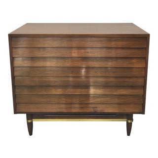 1960s Mid Century Modern American of Martinsville Wooden Chest of Drawers