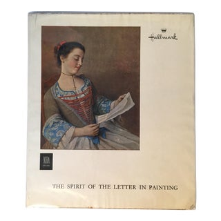 """1961 """"The Spirit of the Letter in Painting"""" First Edition Hallmark Art Book For Sale"""