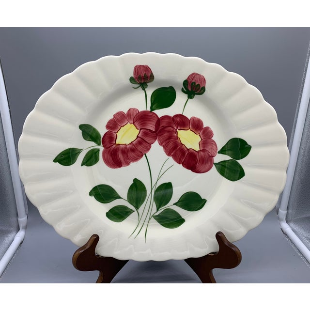 Blue Ridge Southern Pottery Mirror Image Platter For Sale - Image 10 of 10