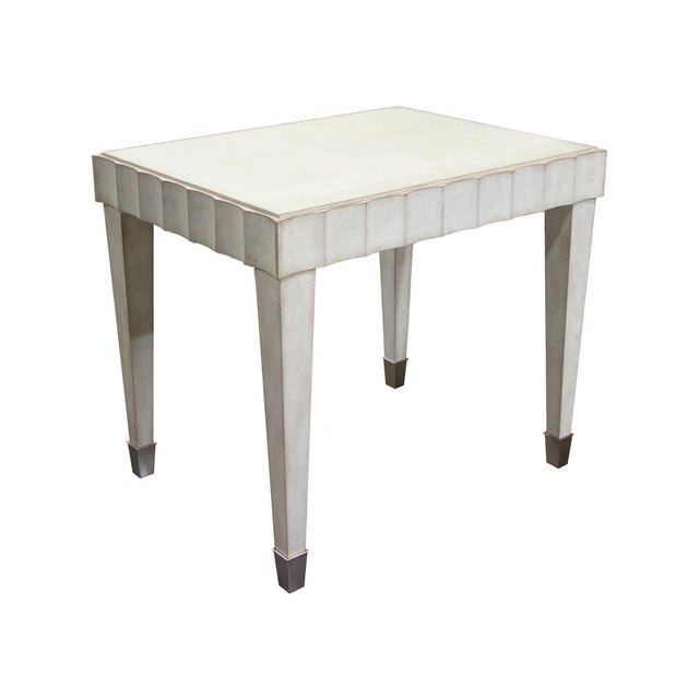 Fremarc Designs Beverly Side Table For Sale In Los Angeles - Image 6 of 6