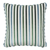 Image of Schumacher Le Matelot Pillow in Peacock For Sale