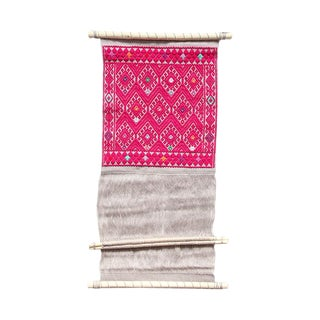 Backstrap Loom Textile I For Sale