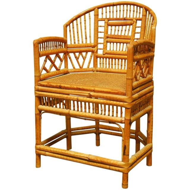 Bamboo Brighton Pavillion Style Armchair - Image 1 of 9