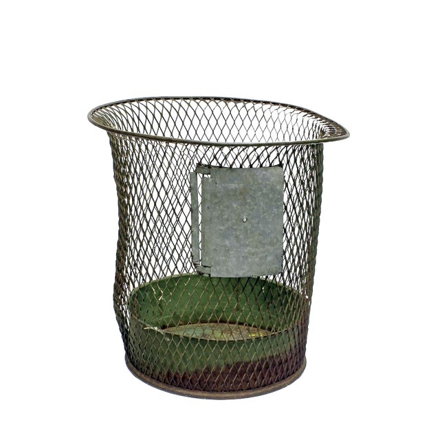 1930s Nemco Wire Wastebasket - Image 1 of 3